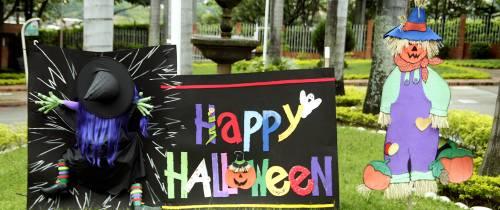 Cañaveral ya se vistió de Halloween