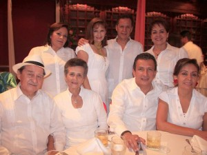 Miguel Ángel Rojas, Anita de Rojas, Jesús Al-berto Contreras,  Esperanza Hernández,  Leticia Barajas, Carmen Ligia Bautista, Germán Suárez y Elvira Martínez Durán.