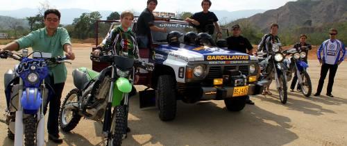 José Rubén, José David y Fernando: con adrenalina por sus venas