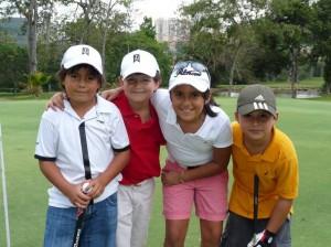 Juan Pablo Serrato, Juan Andrés Ferreira, María José González y Tomás Alejandro Quiñónez.