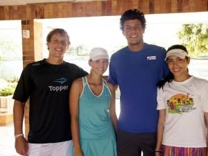 Ricardo Hocevar, Daniela Carrillo, Joao Sousa y Juliana Parra.
