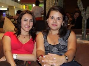 Sara Olarte y Lina Pinzón.