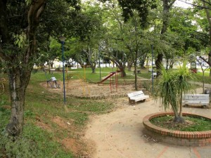 Este es el aspecto del Parque La Pera en Cañaveral.