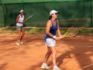 La colombiana Viky Núñez fue la santandereana más destacada del torneo al alcanzar el título de dobles al hacer pareja con Catalina Castaño.