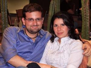 Miguel Ángel Gómez y Sandra Delgado.