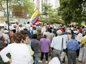 La comunidad se reunió en el Parque La Pera
