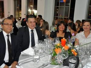 Harry May, Héctor García – Herreros, Luz Amparo Quijano y Yaneth Silva.