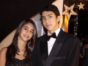 María Rey y Carlos Márquez.