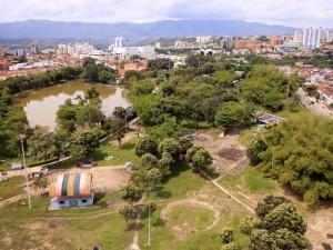 Así se encuentra actualmente el parque