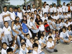 Estudiantes del Colegio San Pablo Sede I.