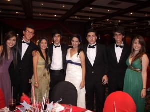 Laura Rueda, José Mattos, Vanesa Dukón, Juan Pablo Rey, Silvia García, Juan Sebastián Rodríguez, Juan Diego Ojeda y María Alejandra Amaya.