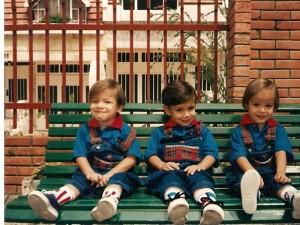 Carlos Mauricio, Carlos Eduardo y Daniela