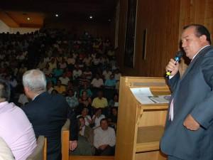 El alcalde de Floridablanca, Eulises Balcázar Navarro fijó su posición, aunque luego fue refutado por un concejal.