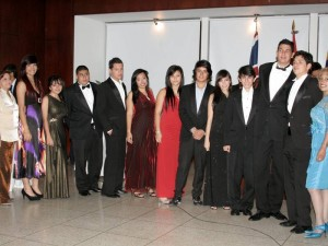 Jorge Sandoval, Juan Silva, Sara Delgado, Cristian Galindo, Diana Mora, María Acevedo, Paula Pinto y Blanca Montañez.