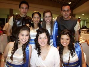 Nina Martínez, Jessica Supelano, Nora Rincón, Ismael Aguilar, Liz Benitez, Maricela Bayona y Carlos Rondón.
