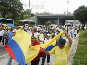 Segunda Marcha de Protesta por Cobro de Valorización