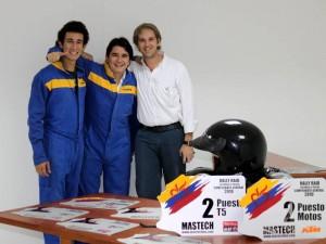 José David, José Ruben y Fernando Gómez