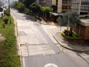 Según los residentes del sector, son 25 metros los que no se pavimentaron.