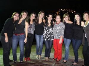 María Gabriela Martínez, María Teresa Remolina, Martha Helena Sorzano, Natalia Galvis, Mónica Macías, Teresa Ardila, Sandra Carreño, Ruby de López y Mónica Escobar.