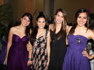 María Paula Tamayo Uribe, Natalia Paola Butrón Gélvez, Diana Marcela Guarín Sanabria y María Clara Orejarena Torres.