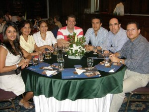 Mónica Abril, Marta Guaracao, Damaris Ariza, Carlos Javier Bonilla, Hanz Toro, Luis Fernando Linares y Roberto Marrugo.