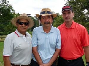 Alberto Forero, Carlos Augusto Arenas y Hernán Olarte.