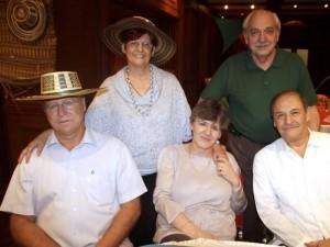 Guy Harvey, Pilar Verdejo, Sarah Hadr, Cleoni Fernández y Manuel Tovar.