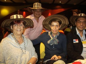 Cleoni Fernández, Roberto Guevara, Aida Fernández y Agustín Alberto Martínez.