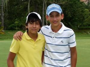 Marcelo Higuera y Daniel Higuera.