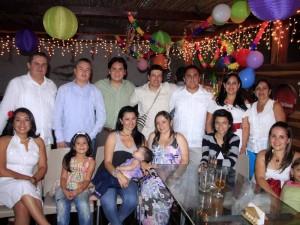 Valeria Rojas, Mónica Cortés, Luciana Rojas, Freddy Sandoval, Javier Delgado, Julián Rojas, Carlos Martínez, Alex Rojas y Olga Sandoval.