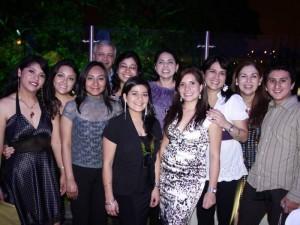Maide Delgado, Janeth Lamas, Paulina Sánchez, Alejandro Vásquez, Andrea Bolaños, Miriam Lara, Ligia Sancho, Maided Morales, Rosario Bermúdez, Sonia Álvarez y Andrés Chávez.