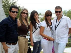 Nino Beltrán, Constanza Escobar, Natalia Duarte, Luz Stella Patiño y Hernán Duarte.