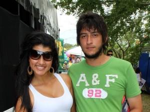 Vivian Cadena y Cristian Martínez.