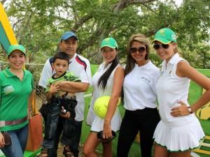 Francy Panqueba, Wellington Montoya, Santiago Montoya, Katherine Jiménez, Pilar Celis y Lorena Cáceres.
