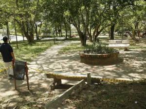 El estado del parque La Pera es un tema que preocupa a la comunidad.