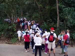 La caminata está programa para el domingo 13 de febrero.