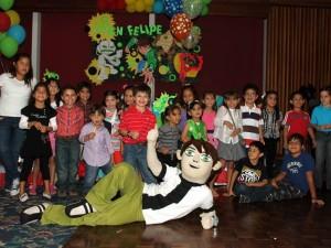 Juan Felipe celebró sus 6 años junto a sus amigos de colegio
