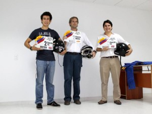 José David Cavanzo, 'Teo' Gómez y José Rubén Cavanzo.