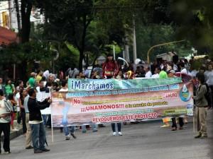 La marcha está programada para el viernes 25 de febrero.
