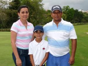 Sonia Sanabria, María Camila Moreno y David Moreno.