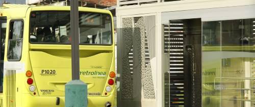 La puerta de la estación de Hormigueros no cierra