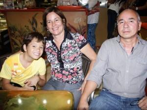 Orlando Niño, Consuelo Ardila Duarte y Agustión Niño Ardila.