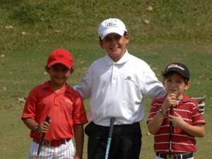 Juan Camilo Vesga, Fernando Paipilla y Mateo Chaguala.