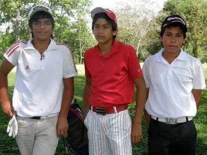 Juan Sebastián Giatsidakis, Marcelo Higuera y Oscar Carrero.