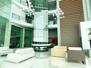 Diseño del lobby.