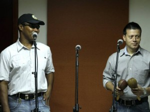 Félix Manuel Acevedo y Fabián Gómez: Vocalista