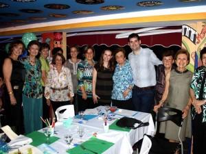 Nancy Arenas, Cecilia Ogliastri, Isabel Ogliastri, Olga Puyana, Consuelo Bayona, Lucía González, Ángela Ardila, Mery Puyana, Roberto González  y Cecilia Cadena.
