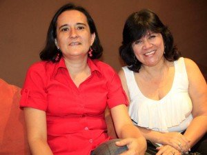 Paola Múnera y Elsa Margarita Parra.