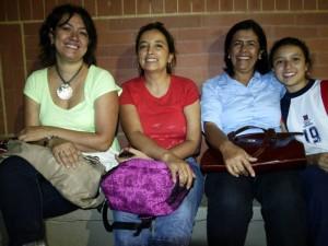 Liana Jaimes, Adriana Ramos, Gladis Serrano González y Angélica Toro.
