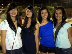 Catalina Bornel, Maria Fernanda Pedraza, Victoria Lesmes y Dayana Sánchez.